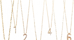 『Number necklace』yaca ON LINE STORE販売開始
