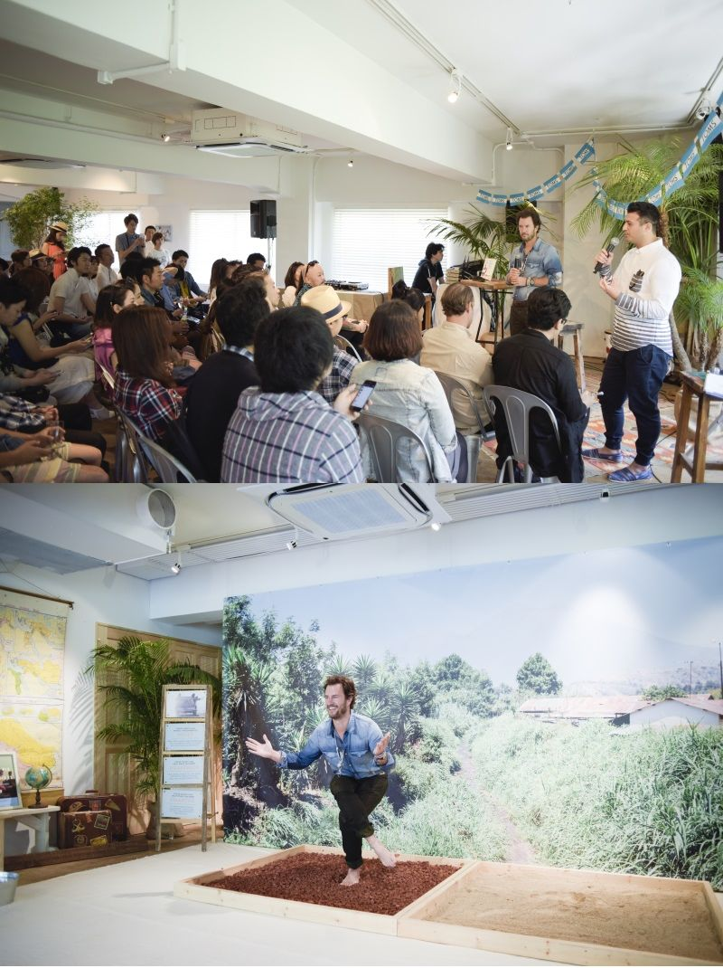 TOMS BRUNCH CONFERENCE & party without shoes -supported by WWD Japan-