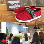 TOMS MARINE & WALK YOKOHAMA店 オープン記念ワークショップ